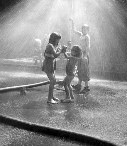Kids Play Sprinkler