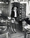 Marianne Moore in antique store